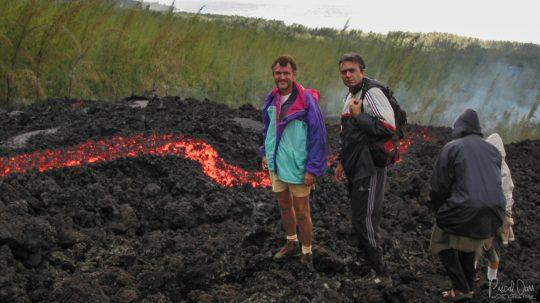 Eruption 21 août 2004